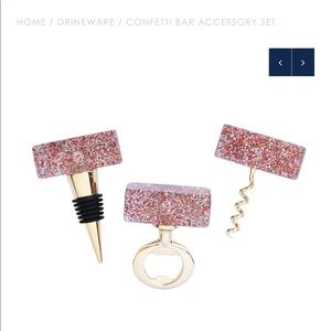 Confetti Bar Accessory Set by Packed Party
